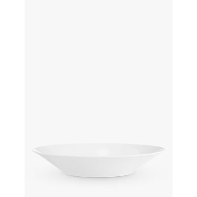 John Lewis Cornet Bone China 24cm Bowl, White