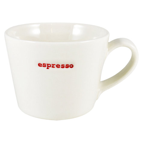 Buy Keith Brymer Jones Word 'Espresso' Espresso Cup Online at johnlewis.com