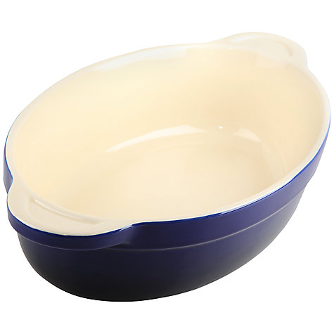 Buy Denby Imperial Blue Oval Dish, L23 x W13cm Online at johnlewis.com