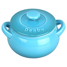 Buy Denby Azure Mini Casserole Dish Online at johnlewis.com