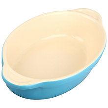 Buy Denby Azure Small Oval Dish Online at johnlewis.com