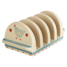 Buy John Lewis Polly's Pantry Toast Rack, Multi Online at johnlewis.com