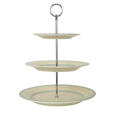 John Lewis Polly's Pantry Three Tier Cake Stand, Multi