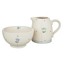 Buy John Lewis Polly's Pantry Creamer And Sugar Set, Multi Online at johnlewis.com