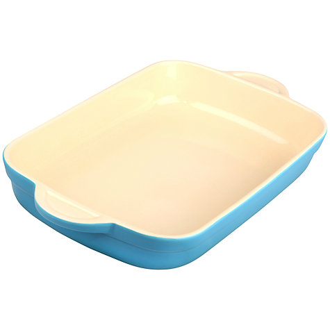 Buy Denby Azure Oblong Dish, L40 x W25cm Online at johnlewis.com
