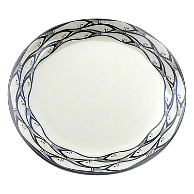 Image of Jersey Pottery Sardine Run 20cm Side Plate