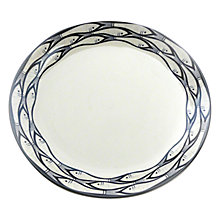 Buy Jersey Pottery Sardine Run Side Plate, Dia.20cm Online at johnlewis.com