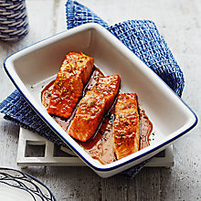 Buy Glazed Salmon Fillets with Ginger, Lime, Honey and Soy by Alice Hart Online at johnlewis.com