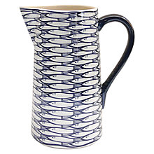 Buy Jersey Pottery Sardine Run Pitcher Online at johnlewis.com