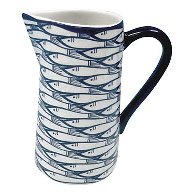 Image of Jersey Pottery Sardine Run Jug, 0.25L