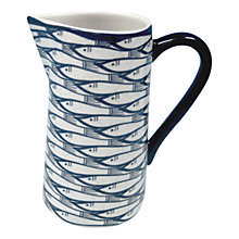 Buy Jersey Pottery Sardine Run Jug, 0.25L Online at johnlewis.com