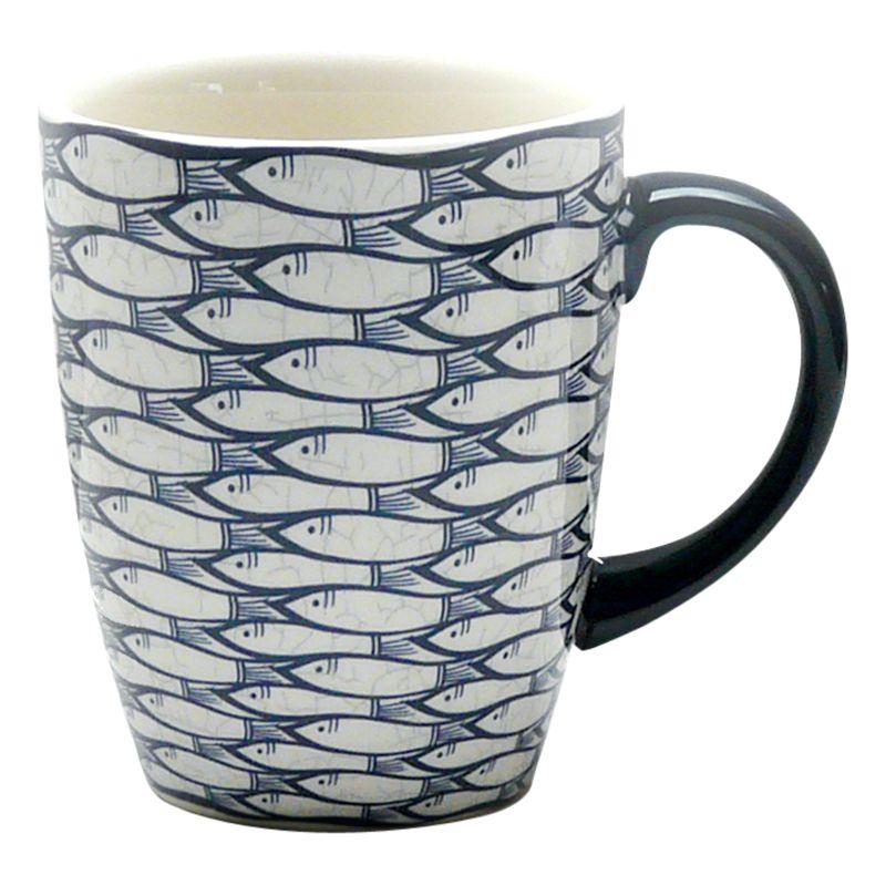 Jersey Pottery Jersey Pottery Sardine Run Mug