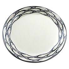 Buy Jersey Pottery Sardine Run Dinner Plate, Dia.28cm Online at johnlewis.com