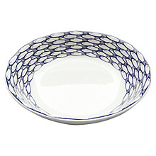 Buy Jersey Pottery Sardine Run Serving Bowl Online at johnlewis.com