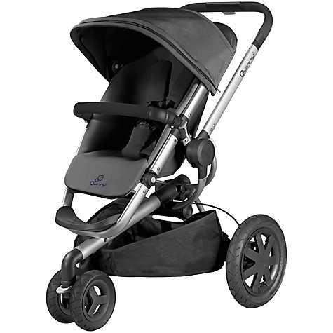 Buy Quinny Buzz Xtra Pushchair, Rocking Black Online at johnlewis.com