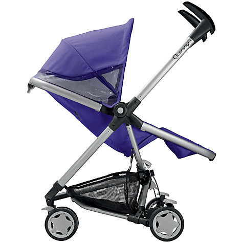 Buy Quinny Zapp Xtra2 Pushchair, Purple Online at johnlewis.com