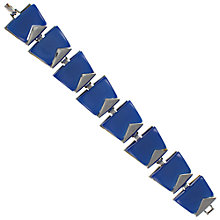 Buy Eclectica 1950s Charel Chrome Plated Thermoplastic Bracelet Online at johnlewis.com
