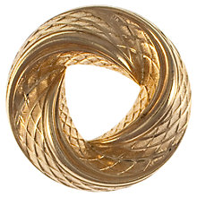 Buy Eclectica 1960s Grosse Gold Plated Brooch Online at johnlewis.com