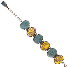 Buy Eclectica 1950s Miracle Faux Opal Bracelet Online at johnlewis.com