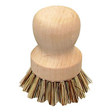 Buy John Lewis Croft Collection Wooden Pot Brush Online at johnlewis.com