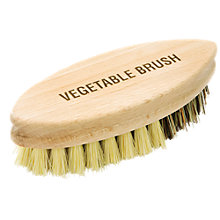 Buy John Lewis Wood Vegetable Brush Online at johnlewis.com