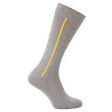 Buy Kin by John Lewis Placement Stripe Socks, One Size Online at johnlewis.com