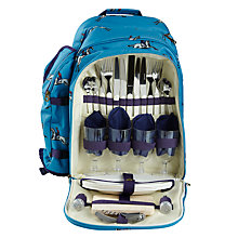Buy Joules Horse Filled Picnic Backpack, 4 Persons Online at johnlewis.com