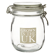 Buy Garden Trading 'Grown In The UK' Storage Jar Online at johnlewis.com
