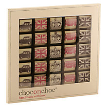 Buy Choc on Choc 25 Block Icon Chocolate Box, 250g Online at johnlewis.com