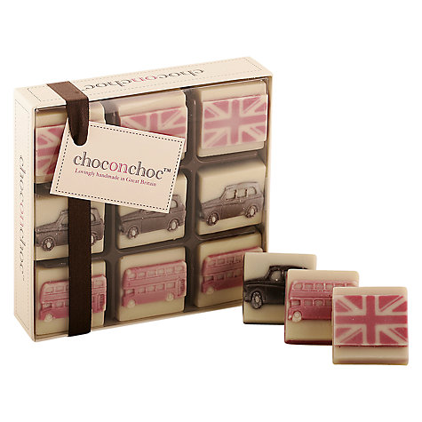 Buy Choc on Choc 9 Block Icon Chocolate Box, 100g Online at johnlewis.com
