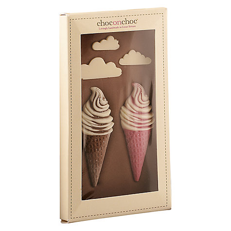 Buy Choc on Choc Ice Cream Chocolate Bar, 100g Online at johnlewis.com