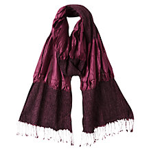 Buy East Silk Ruched Scarf Online at johnlewis.com