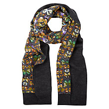Buy NW3 by Hobbs Butterfly Scarf, Grey/Multi Online at johnlewis.com