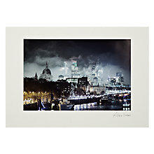 Buy Gallery One, Alex Saberi - Gotham London Mounted Print, A2 (42 x 59.5cm) Online at johnlewis.com