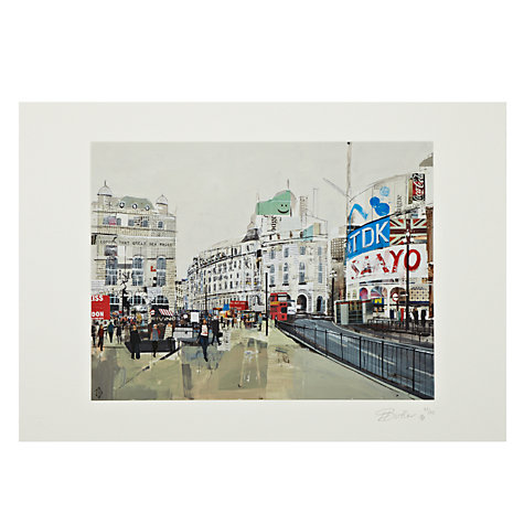 Buy Gallery One, Tom Butler - Piccadilly Circus I Signed Limited Edition Mounted Print, A2 (59.2 x 42cm) Online at johnlewis.com