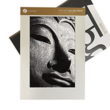 Buy Gallery One, James Dominé - Content Buddha Mounted Print, A2 (59.5 x 42cm) Online at johnlewis.com