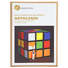 Buy Gallery One Small Things in a Small World Notecards, Box of 10 Online at johnlewis.com