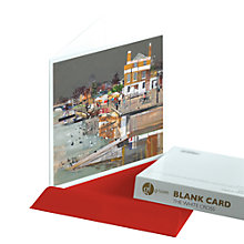Buy Gallery One The White Cross Greeting Card Online at johnlewis.com