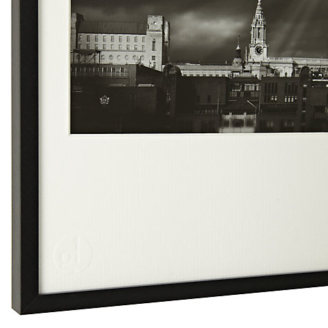 Buy Gallery One, Gregg Sedgwick - St Paul's Cathedral and Millennium Bridge Framed Print, A3 (29.7 x 42cm) Online at johnlewis.com