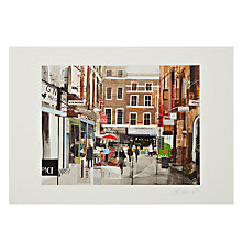 Buy Gallery One, Tom Butler - Window Shopping in Covent Garden Limited Edition Mounted Print, A2 (42 x 59.2cm) Online at johnlewis.com