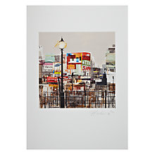 Buy Gallery One, Tom Butler - Piccadilly Circus II Signed Limited Edition Mounted Print, A2 (42 x 59.2cm) Online at johnlewis.com