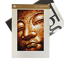 Buy Gallery One, James Dominé - Focused Notion Buddha Mounted Print, A3 (42 x 29.7cm) Online at johnlewis.com