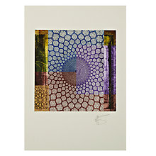 Buy Gallery One, Gregg Sedgwick - Arabic Geometry Mounted Print, A3 (42 x 29.7cm) Online at johnlewis.com