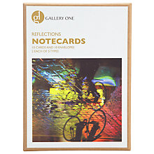 Buy Gallery One London Reflections Notecards, Box of 10 Online at johnlewis.com