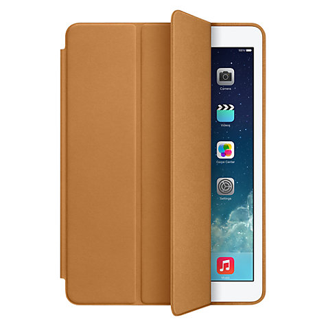 Buy Apple Leather Smart Case for iPad Air Online at johnlewis.com