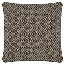 Buy John lewis Inca Cushion Cover, Black Online at johnlewis.com