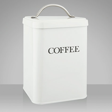 Buy Garden Trading Coffee Canister, Chalk Online at johnlewis.com