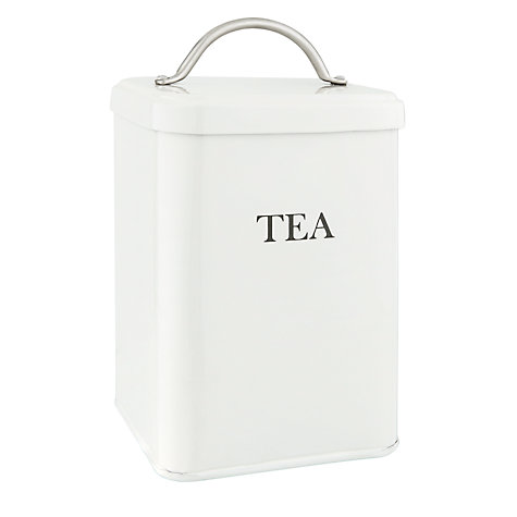 Buy Garden Trading Tea Canister, Chalk Online at johnlewis.com