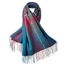 Buy East Check Multicolour Scarf Online at johnlewis.com