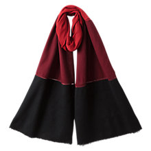 Buy East Colour Block Wrap, Scarlet Online at johnlewis.com
